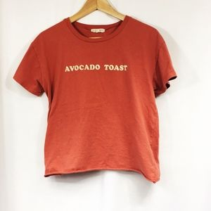 "L.A. Hearts Pink ""Avocado Toast"" Scoop Neck TShirt"